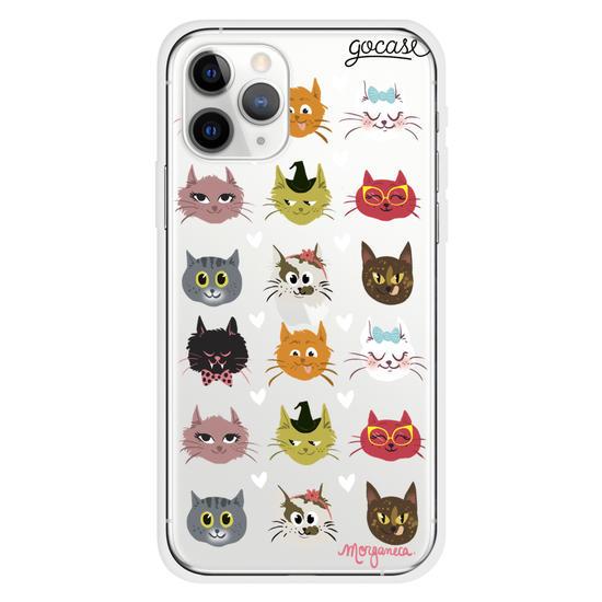 Friendly Felines Phone Case
