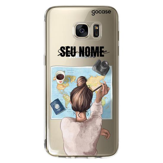 Capinha para celular Garota Viajante