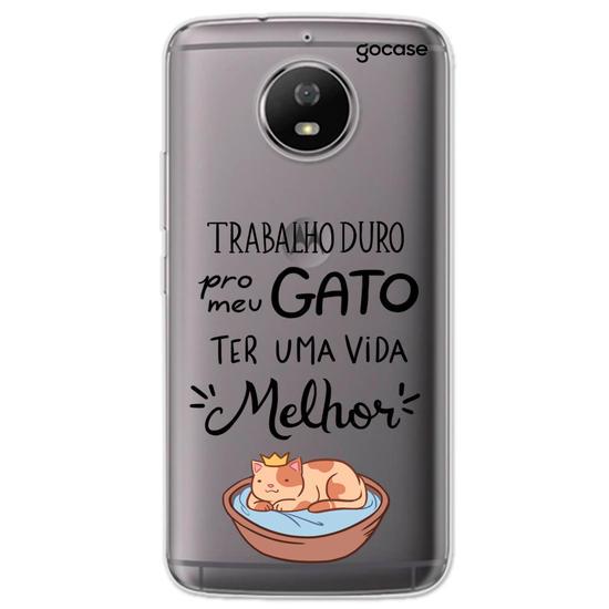 Capinha para celular Gato Majestoso