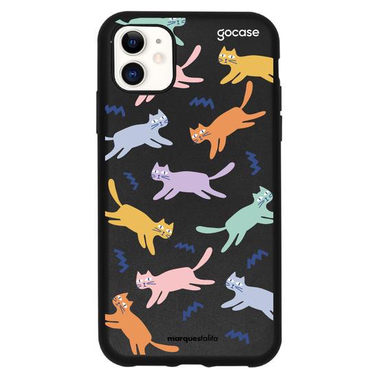 Capinha para celular Gatos