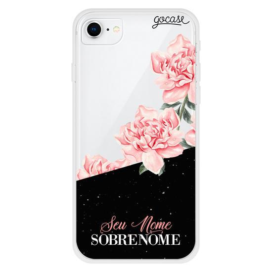 Capinha para celular Glam Rosé Personalizada