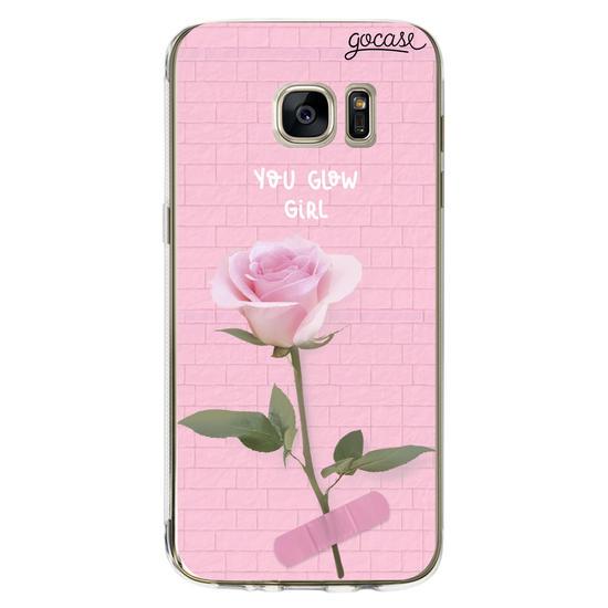 Capinha para celular Glow Girl Personalizada