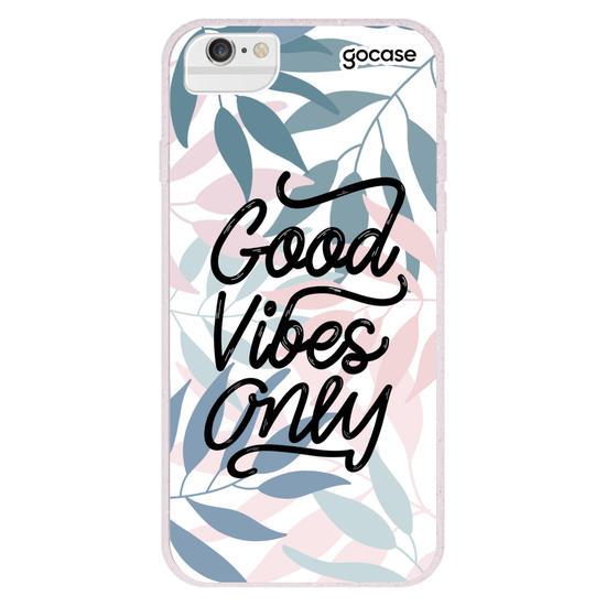 Capinha para celular Good Vibes Only