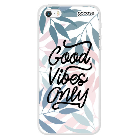 Capinha para celular Good Vibes Only