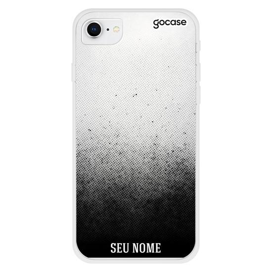 Capinha para celular Gradiente Preto Personalizada