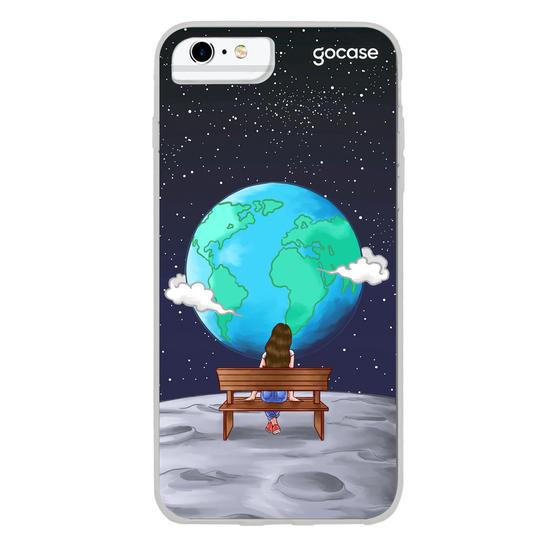 Capinha para celular Habitante Lunar