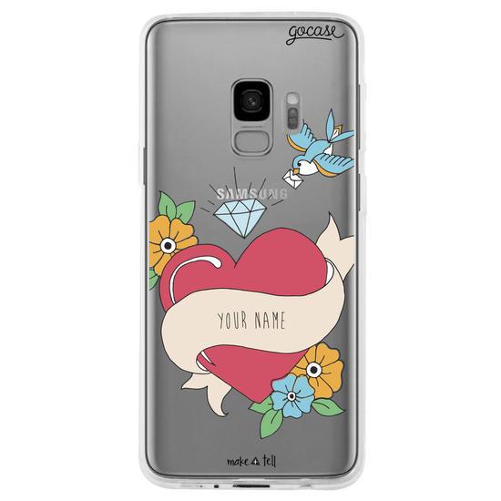 Heart Tattoo  Phone Case