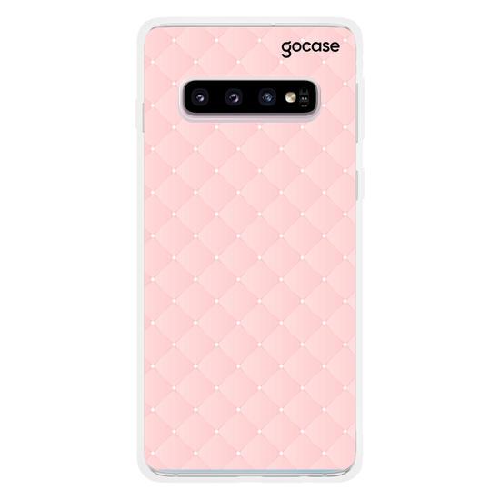 Capinha para celular Iniciais Fancy Glamour