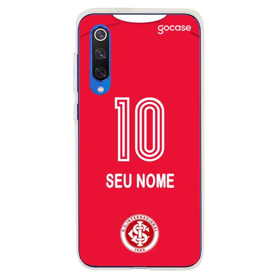Capinha para celular Internacional - Uniforme 1 - 2020 - Personalizado
