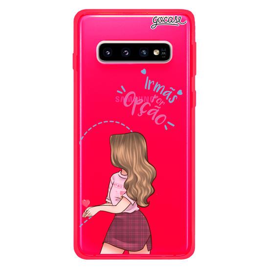 Capinha para celular BFF Irmãs Por Opção Direita Customizável