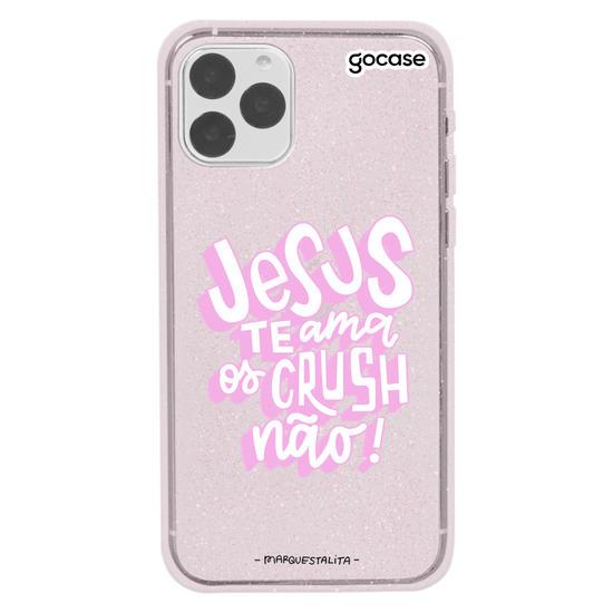 Capinha para celular Jesus Love