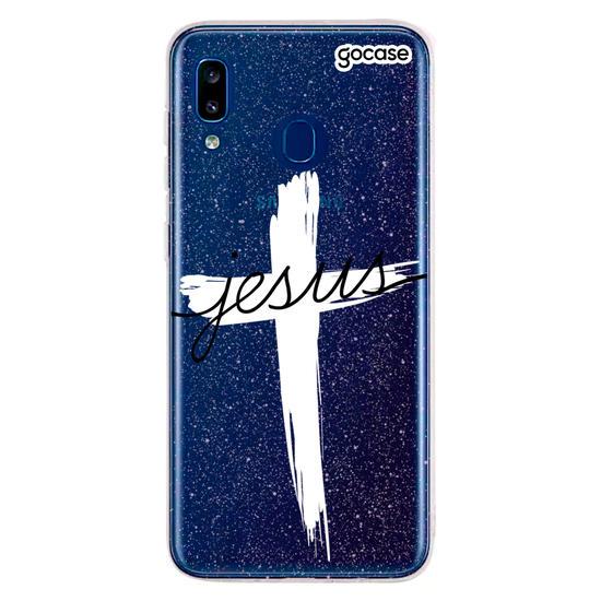 Capinha para celular Jesus