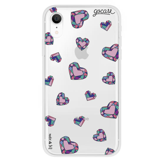 Jewel Heart Phone Case