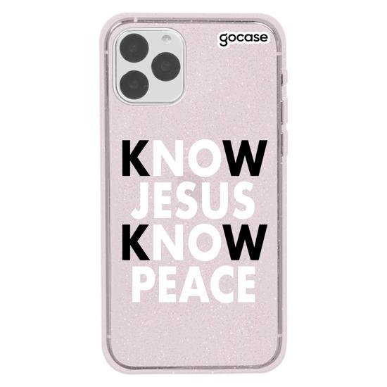 Capinha para celular Know Jesus