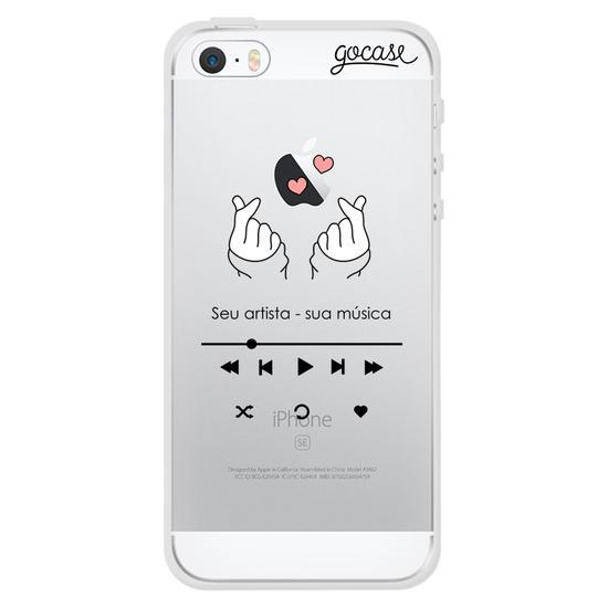 Capinha para celular Kpop Player Clean
