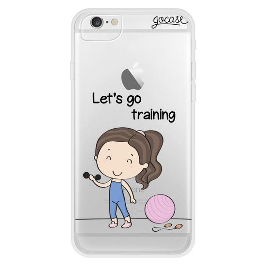 Let's Go Training Phone Case