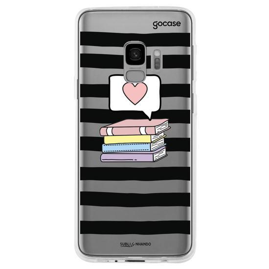 Capinha para celular Like Books