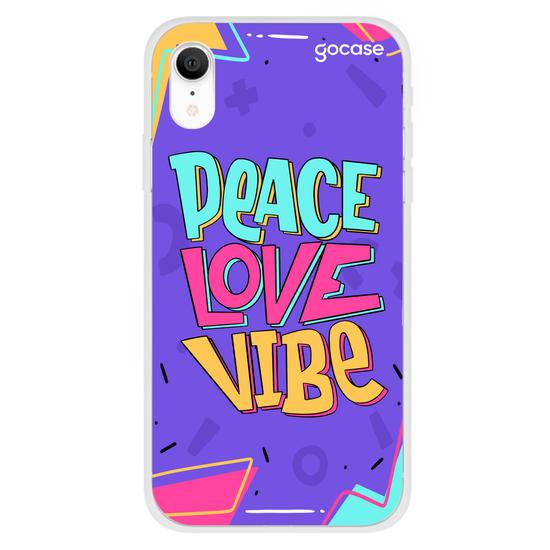 Capinha para celular Peace Love Vibe