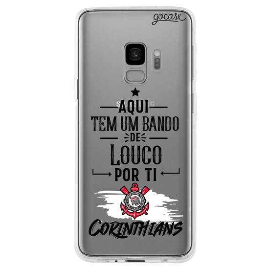 Capinha para celular Louco por ti, Corinthians