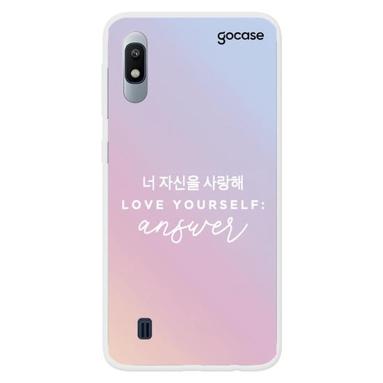 Capinha para celular Love yourself