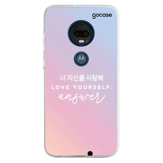 Capinha para celular Love yourself