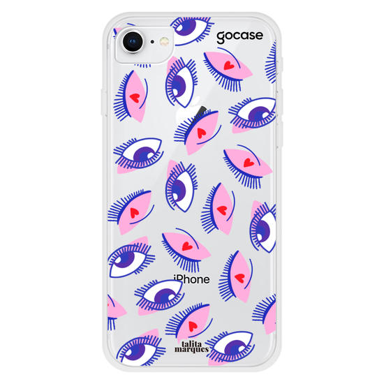 Capinha para celular Lovely Eyes