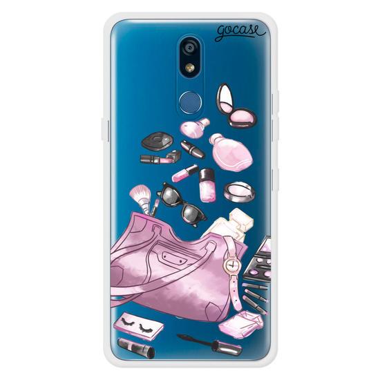 Capinha para celular Make e Perfume