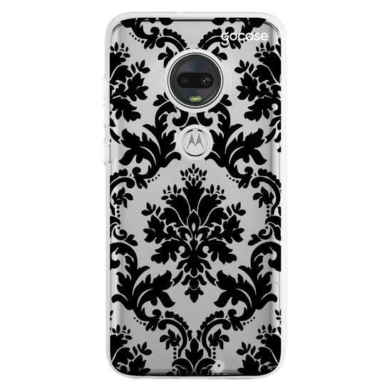 Capinha para celular Mandala Negra