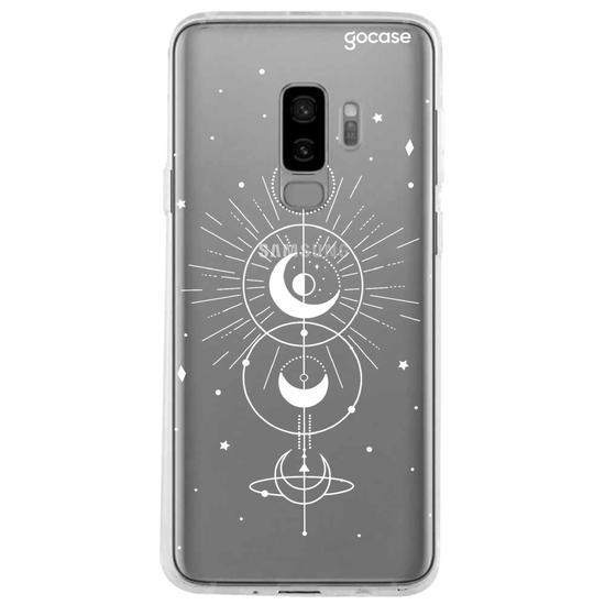 Capinha para celular Mapa Lunar White