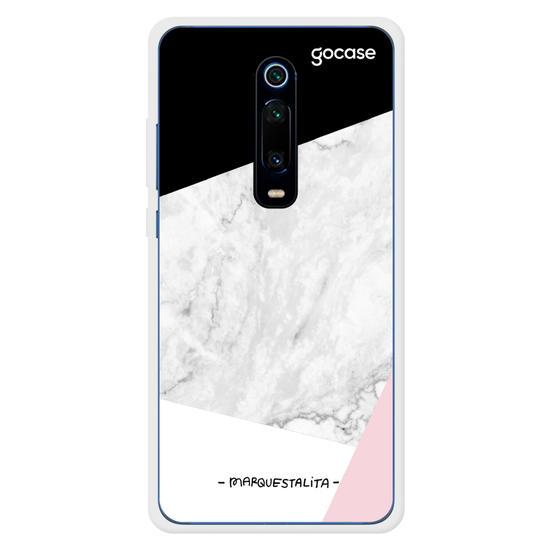 Capinha para celular Marmorizado Tricolor