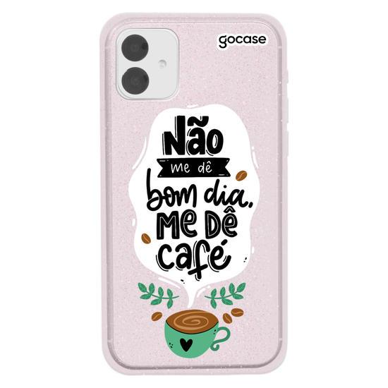 Capinha para celular Me Dê Café