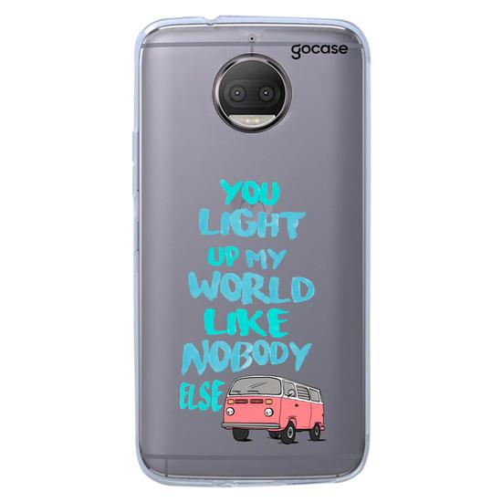 Capinha para celular Meu Mundo