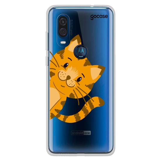 Capinha para celular Miau