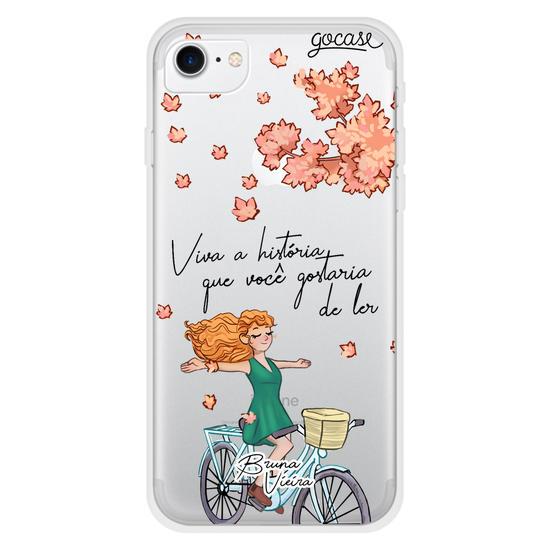 Capinha para celular Minha História by Bruna Vieira