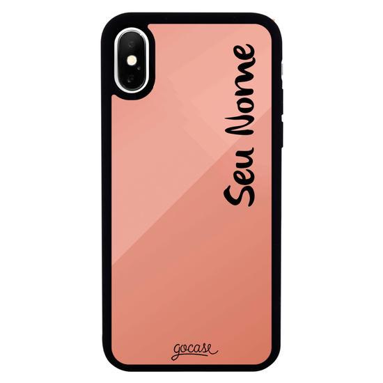 Capinha para celular Mirror - Capinha com nome