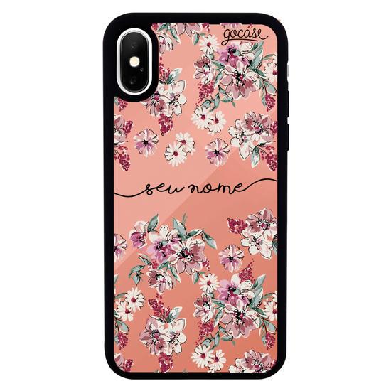 Capinha para celular Mirror -  Flores Rosê