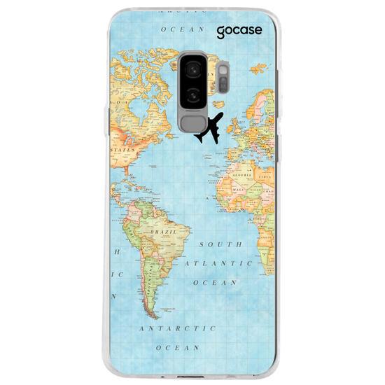 Capinha para celular Mapa Mundi