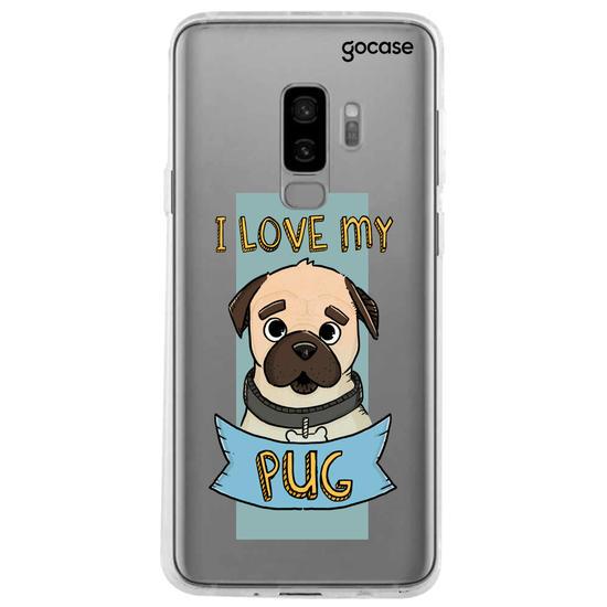 Capinha para celular My Pug