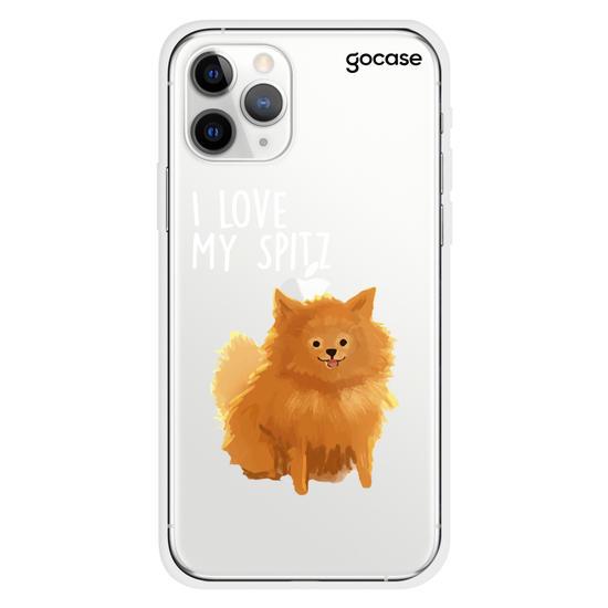 Capinha para celular I Love My Spitz