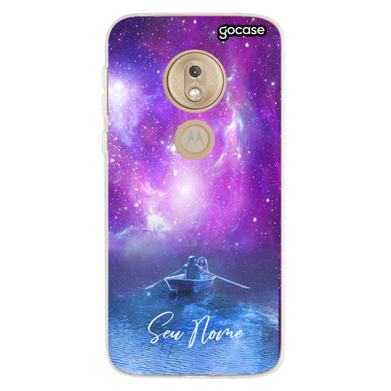 Capinha para celular Navegando Nas Estrelas Customizável