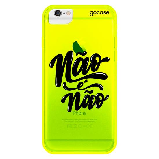 Capinha para celular Neon - Não é Não
