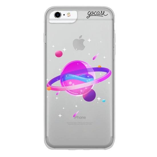 Capinha para celular Neon Planet