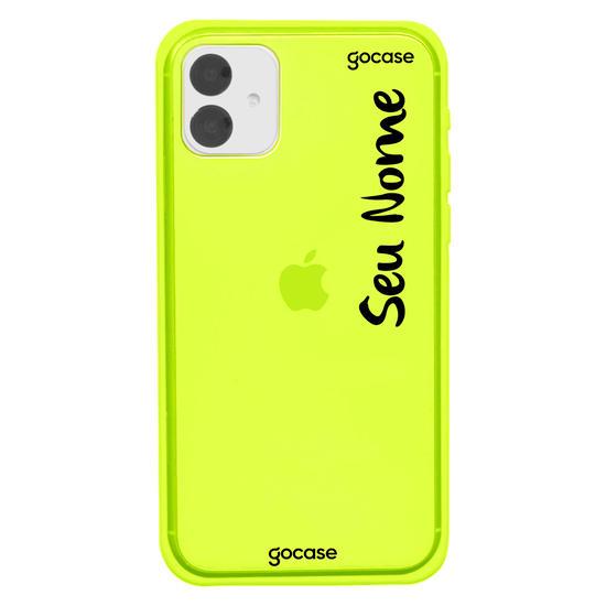 Capinha para celular Neon -  Capinha com nome