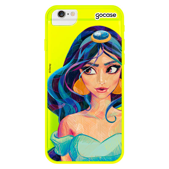 Capinha para celular Neon -  Disney - Jasmine Style