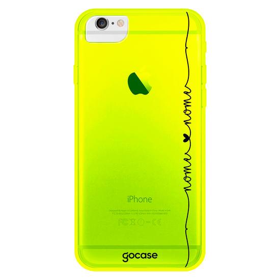 Capinha para celular Neon - Eterno Amor - Corações