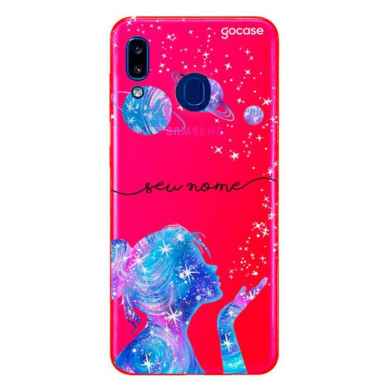 Capinha para celular Neon -  Poeira das estrelas Manuscrita Clean