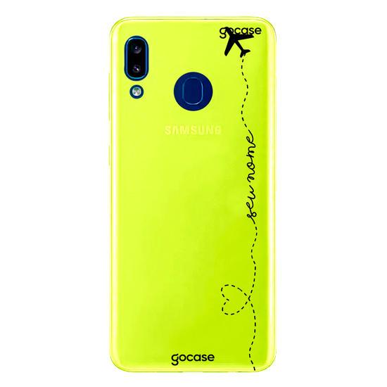 Capinha para celular Neon -  Volta ao Mundo Manuscrita