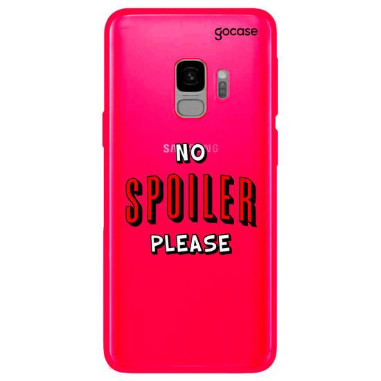 Capinha para celular No Spoiler