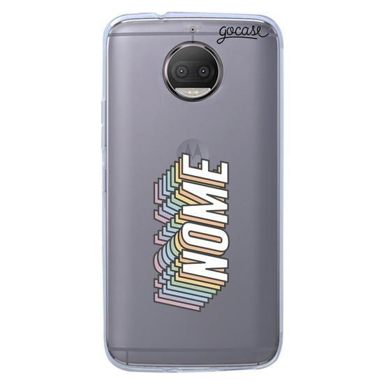 Capinha para celular Nome Rainbow