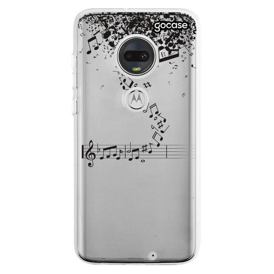 Capinha para celular Notas Musicais Flutuantes